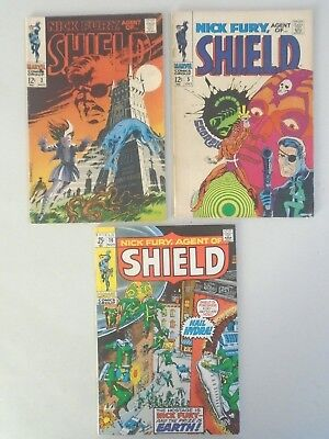 Nick Fury, Agent of Shield - #3,5,16