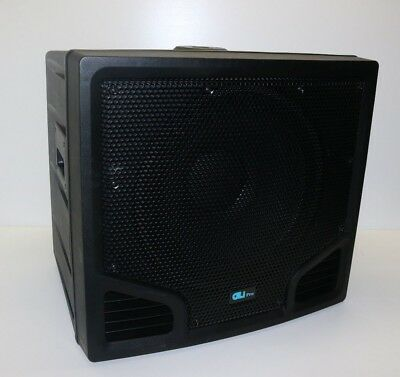 "GLi Pro Bass Blaster 4.0 18"" 4000W Maximum Power Black Subwoofer"