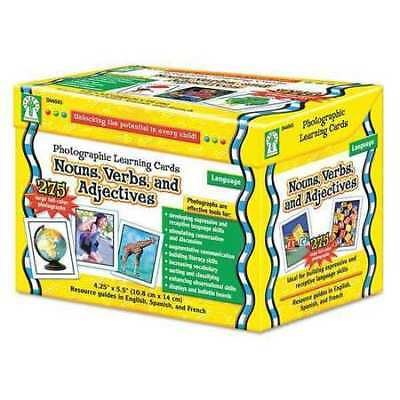 CARSON-DELLOSA PUBLISHING D44045 Photographic Cards,Word Learning,K-12