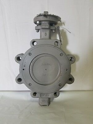 ABZ Stainless Steel Butterfly Valve, Model 402-102 6 Inch Bare Shaft