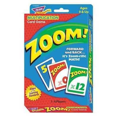 TREND T76304 Zoom Math Card Game,Ages 9 and Up