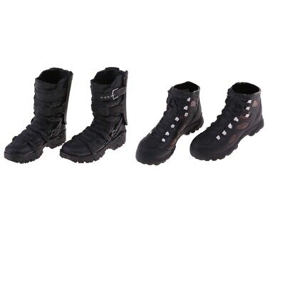 2pcs 1/6 Male Hiking Shoes Ankle Boots for 12'' Man Phicen Kumik Hot Doll