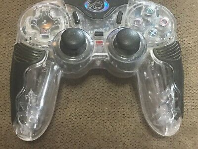 CHAMELEON Clear Wireless Sony Playstation PS2 Controller No Receiver