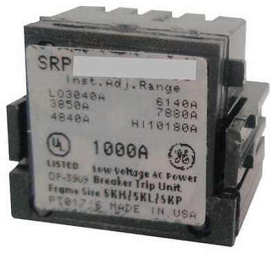 General Electric GE SRPG600A400 New Surplus