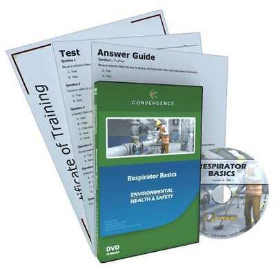 Respirator Training,DVD,17 min.