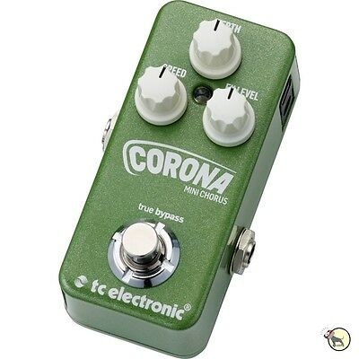 TC Electronic Corona Mini Chorus Guitar Effects Pedal TonePrint True Bypass