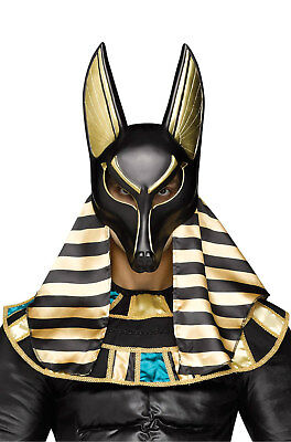 Brand New Egyptian Ancient God Pharoah Anubis Adult Mask