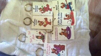 ALF Key chains from 1980s Vintage