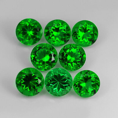 13.15 Ct Amazing AAA Emerald Green Natural Moldavite Round Cut Loose Gemstone