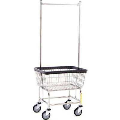 Wire Cart,Narrow,Double Pole Rack R&B WIRE PRODUCTS INC. 100D58