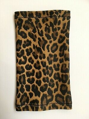 Lycra PICC Line or Freestyle Libre Cover - Leopard Print