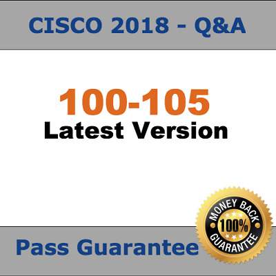 Cisco Test 2018 Verified ICND1 100-105 Exam  (2018 Q&A, PDF)