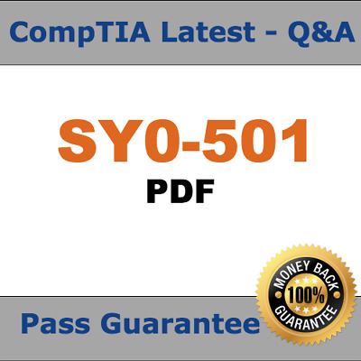 CompTIA Security+  SY0-501 Certification Practice Exam 2018 Verified (Q&A PDF)