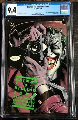 Batman: The Killing Joke #NN CGC 9.4 1988 Alan Moore Brian Bolland