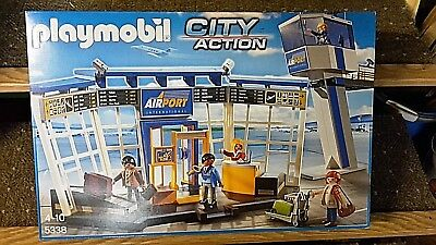 Playmobil FLUGHAFEN CITY ACTION Playmobil 5338 NEU
