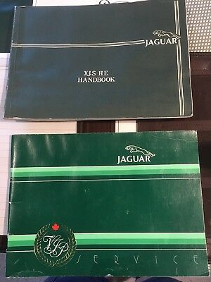 1983 Jaguar XJS owners Manual With Service Guide. Leather