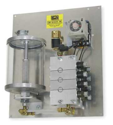 Precision Metering System,Grease,6 Feed LDI INDUSTRIES PMP350-06