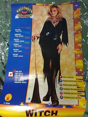 Womens Adult Halloween Concepts WITCH Costume