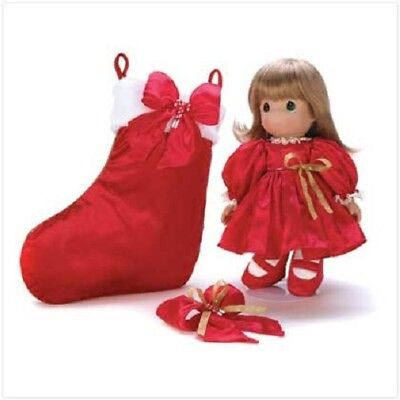 Precious Moment Christmas Doll Collection