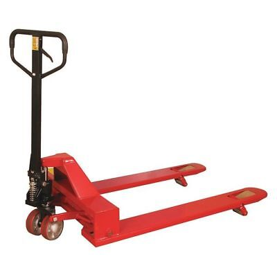 "4-Way Pallet Truck,48""x33"",Red PARTNERS BRAND WS2055"