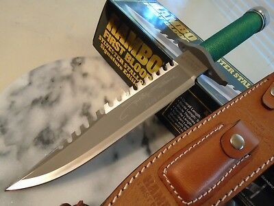 Rambo First Blood Licensed Signature Combat Survival Knife HCG 9293 Masterpiece