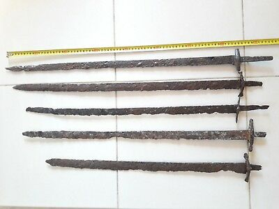 Alan sabers 7th century, 5 pieces. Without restoration.