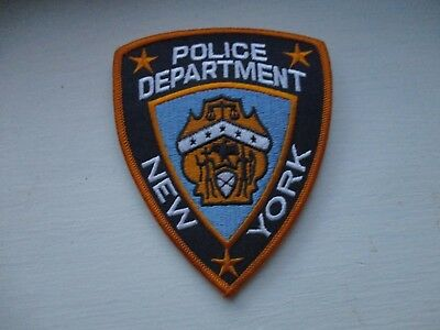 New York Police Department Patch / 3 Star Chief Version / Bureau Chief Of Police