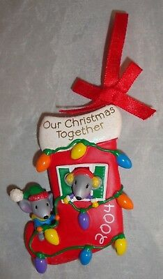 2004 American Greetings Our Christmas Together Mice Ornament