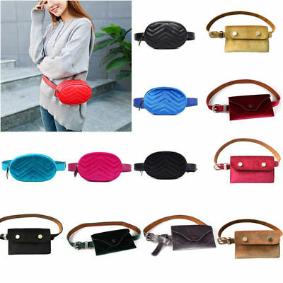 Women Waist Fanny Pack Coin Key Bum Belt Bag Phone Purse Wallet Casual Travel