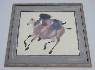 Carol Grigg Large Litho Fine Art Print RIDING FARBOY Horse