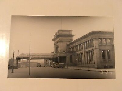 Vintage photo NY NH & H Railroad station Providence Rhode Island RI