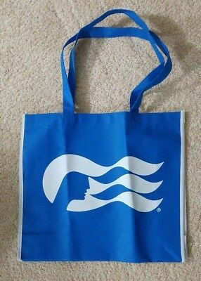 "Princess Cruises Blue Tote Bag Sea Witch Come Back New 14.5"" x 13"" x 4.5"" NEW"