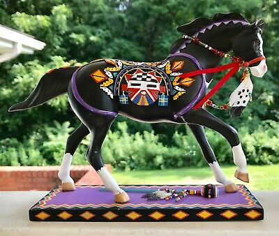 Trail Of The Painted Ponies Kachina No. 12279 Pony Artist Maria Ryan W / Tags