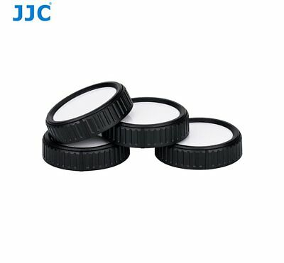 JJC RL-CM4 Writable Rear Lens Cap For Canon EF-M mount lenses Camera 4x set _AU