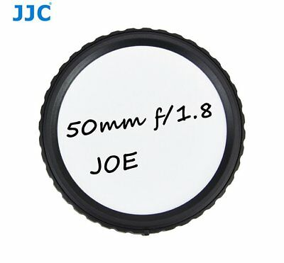 JJC RL-CM Writable Rear Lens Cap For Canon EF-M mount lenses Camera accessory_AU