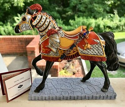 Trail Of The Painted Ponies Super Charger No.12232 Artist Rod Barker W/ Tags