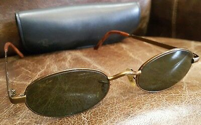 5dd2ccde53b38 Used Vintage G15 Lens Ray Ban Sunglasses B L Bausch Lomb Oval w2949 Generic  Case