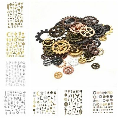 50g Vintage Charms Pendants Mixed Styles For Jewelry DIY Making Accessories