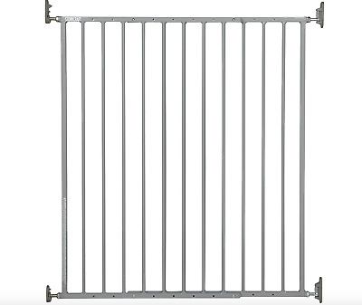 Baby Gate Wall Mount Babe With Door Gates Inside Stair For Toddlers 45 Inches