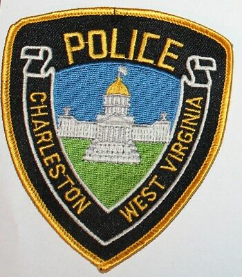 CHARLESTON POLICE West Virginia Capital City WV PD patch