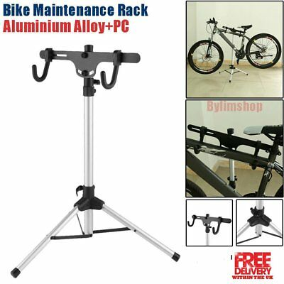 Portable Home Bike Repair Stand Adjustable Height Bicycle Stand Workstand USA OY