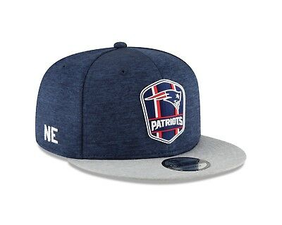 New England Patriots New Era 2018 NFL Sideline Road Official 9FIFTY  Snapback Hat 8cd10a0c5