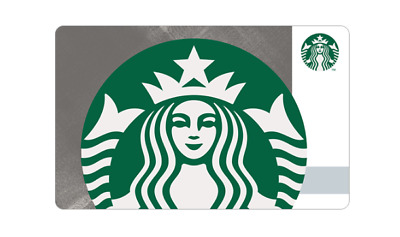 Starbucks Korea 2018 Metallic Siren Card