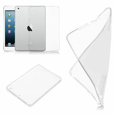 Ultra Slim Protective Silicone Clear TPU Cover Case Skin For Apple iPad Model