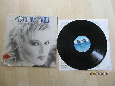 Marina Arcangeli LP Same Teldec 1983, Made in Germany 6.25567 AO