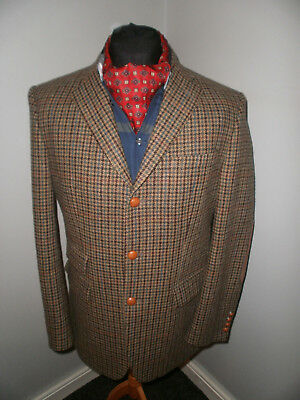 "Barbour Houndstooth Country Sports Blazer/Jacket Size 40 ""Superb"" MTA0020BE51"