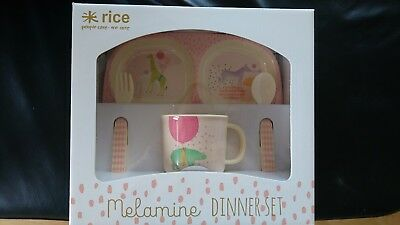 Rice Melamin Dinner Set Baby Geschirr