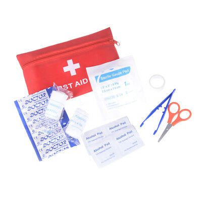 11pcs First Aid Outdoor Survival Kit Small Emergency Car First Aid Health Care..