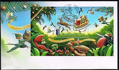 Christmas Island 2016 Christmas FDC (un-addressed)