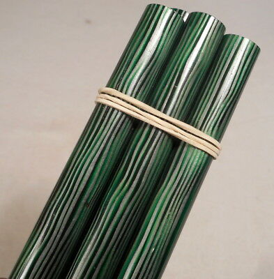 Beautiful rare lot of galalith multicolors marbled 5 rods 116 grams